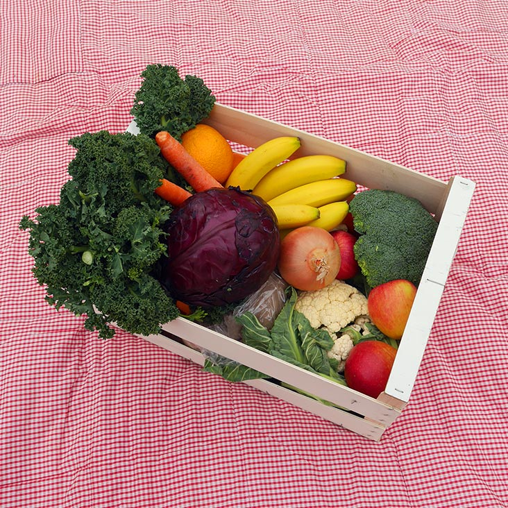 Fruit And Vegetable Assorted Box