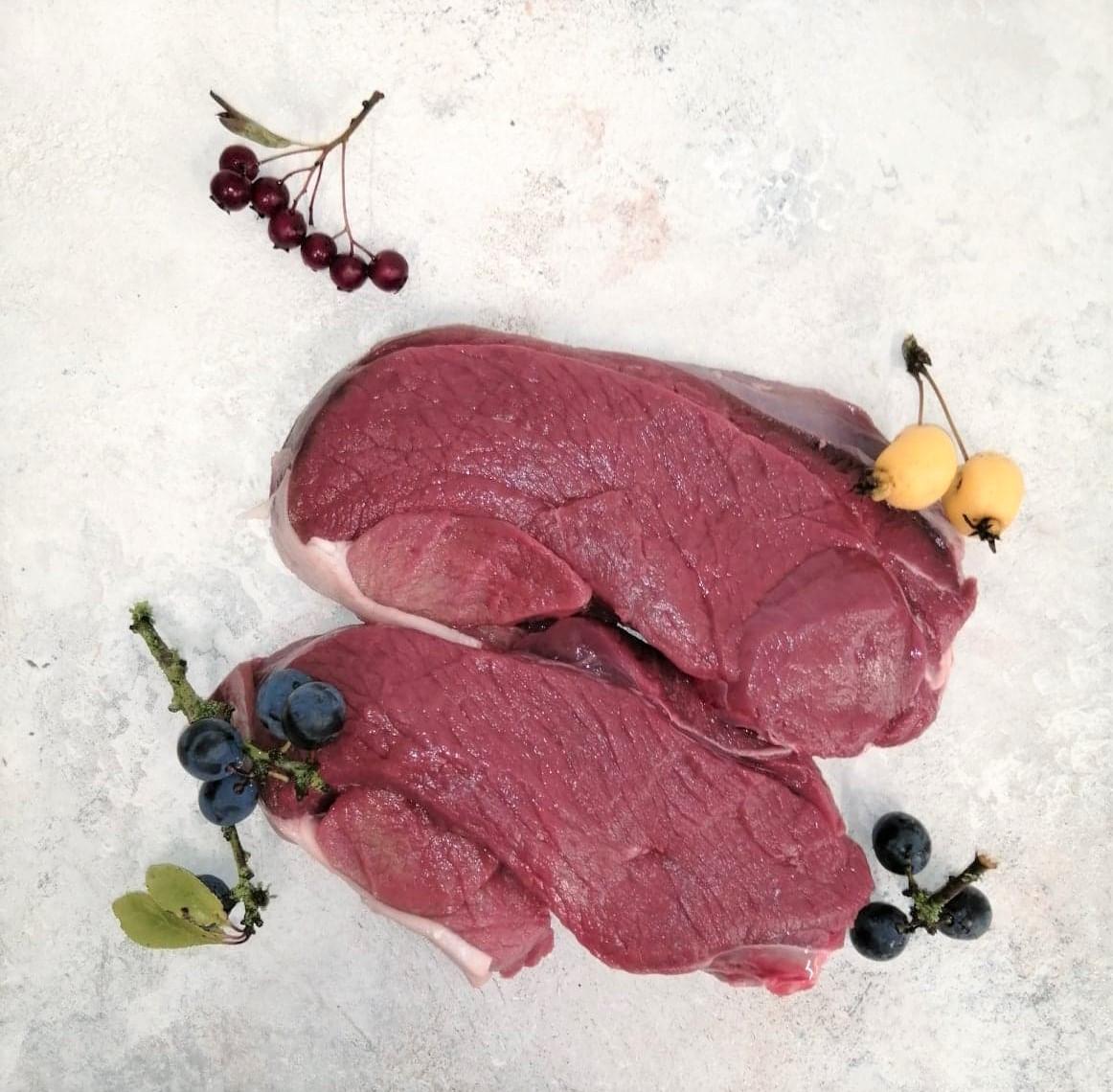 10oz Venison Haunch Steaks