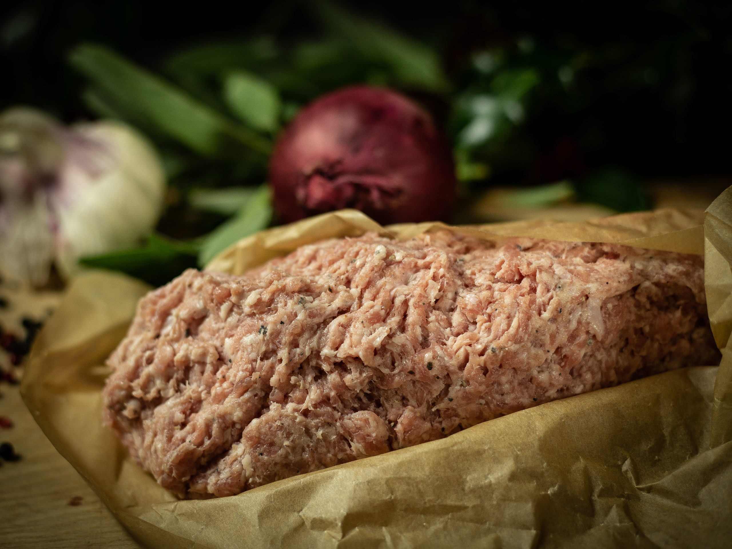Plain Pork Sausage Meat