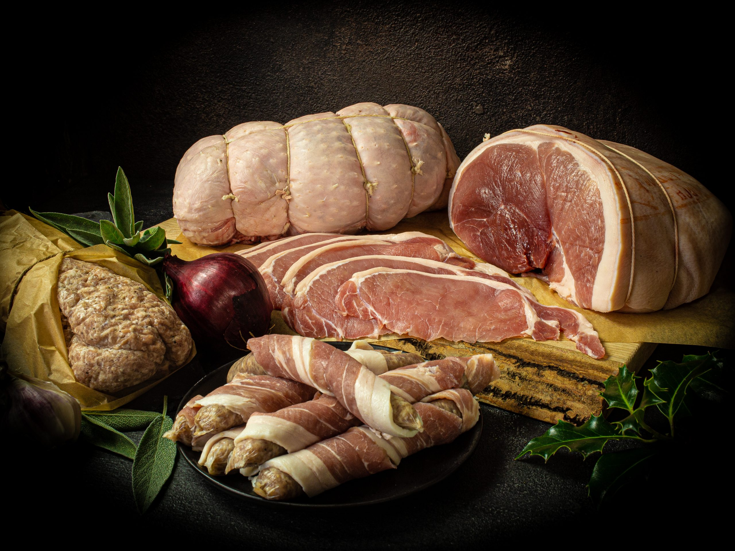 Turkey And Gammon Christmas Meat Hamper